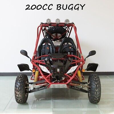 200cc Buggy Quad Atv Kart Offroad Dune Twin Seat Right-hand Drive Auto With Rev