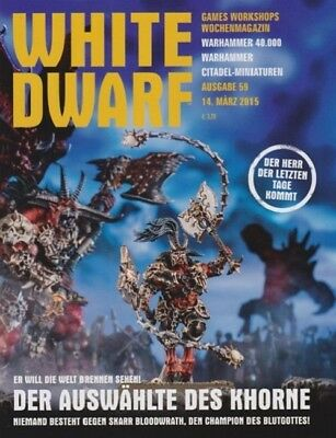 White Dwarf 59 March 2015 (German) by the 14 March 2015 Games Workshop