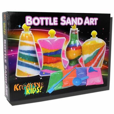 NEW Bottle Sand Art | Kids Art Craft Toy Bottles Activity Toys | ihartTOYS