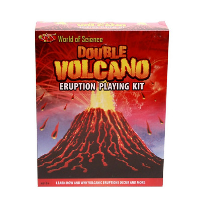NEW Double Volcano Eruption Craft Kit | Kids Educational Crafts Toys | ihartTOYS
