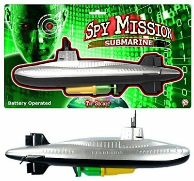 NEW Spy Mission Submarine | Kids Outdoor Bathtime Pool Toys | ihartTOYS (B/O)