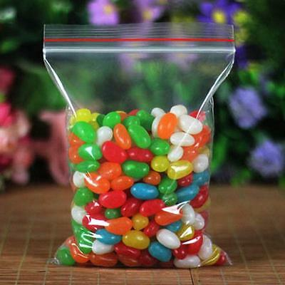 100pcs Resealable bags zip lock plastic 40 x 60mm small candy bag packaging