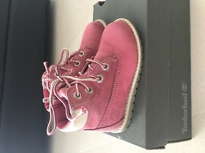 Timberland Fille rose taille 24