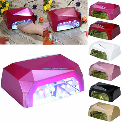 Pro 36W LED CCFL Nail Lamp Nail Dryer UV Lamp Gel Polish Timer Acrylic Polish