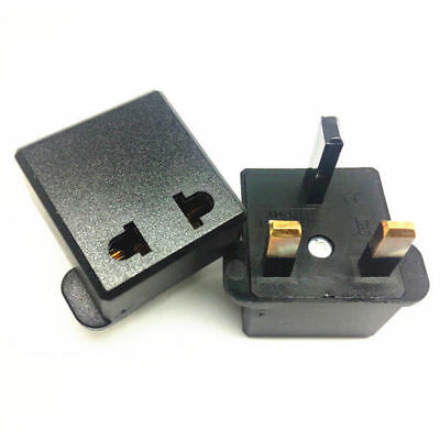 EU/US/AU/Asia to UK Plug Adapter Travel Wall Power Charger Converter Universal