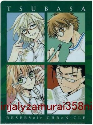 TSUBASA RESERVOIR CHRONICLE CLAMP clear file anime official