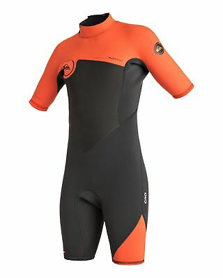 NEW QUIKSILVER™  Boys 8-16 Syncro 2/2mm Short Sleeve Springsuit Wetsuit 2016 Boy