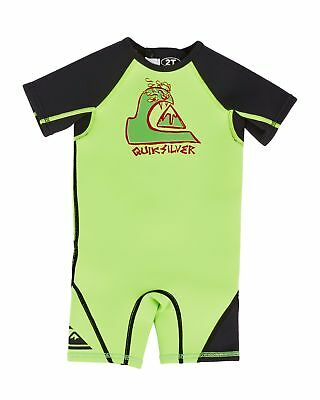 NEW QUIKSILVER™  Boys 2-4 Syncro 1.5mm Short Sleeve Springsuit Wetsuit 2016 Boys