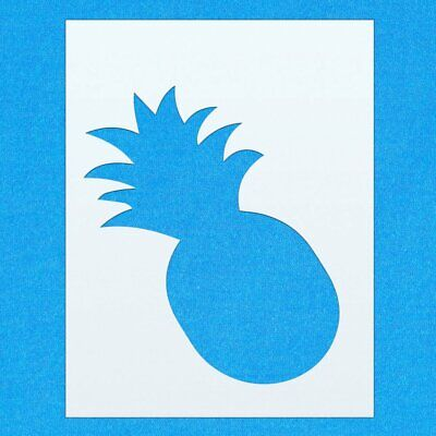 Pineapple Tropical Fruit Mylar Airbrush Painting Wall Art Crafts Stencil two