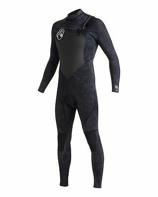 NEW QUIKSILVER™  Mens High Dye 3/2mm GBS Chest Zip Steamer Wetsuit 2016 Surf