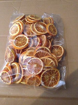 DRIED ORANGE SLICES GREAT FOR CHRISTMAS WREATH DECORATION & CRAFTS 250g