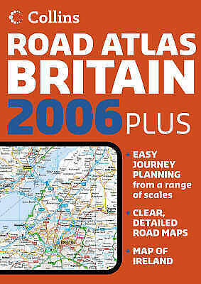 , Collins Road Atlas Britain, Very Good Book