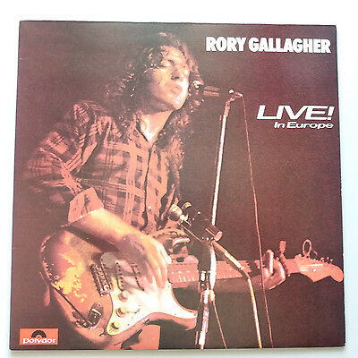 Rory Gallagher - Live in Europe Vinyl LP USA 1st Press 1972 NM/EX+