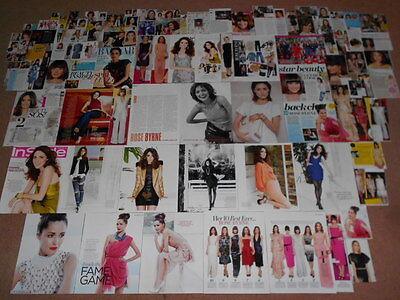 95+ ROSE BYRNE Magazine Clippings