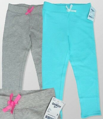 Girls OSHKOSH B'gosh Sweat Fleece Soft Pants Tracksuit Bottoms Ages 4 5 6 BNWT