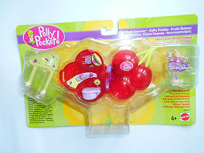 Polly Pocket Fruit Surprises Cherry Mattel 28652 - 2000