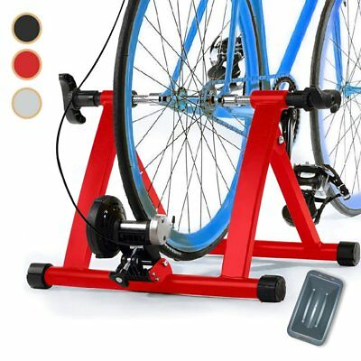 New Indoor Bike Bicycle Magnetic Turbo Trainer Exercise Fitness Training Level 8