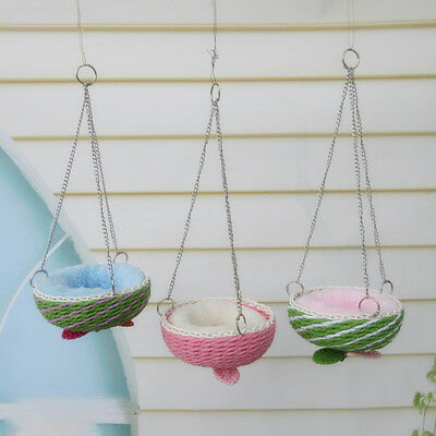 Small Animal Warm Bed Rat Hammock Swing Toys Pet Hamster Cage House Hanging Nest