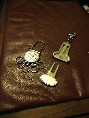 Golf Tool Key Rings - Keep your keys safe and never be without a pitch repairer!