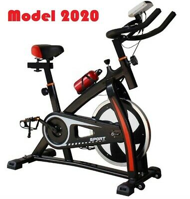 Comfort Seat Cardio Exercise Bike Fitness Machine Home Gym Flywheel Fat Burn