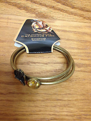 STACKING BRACELETS The Hunger Games Catching Fire **BRAND New!