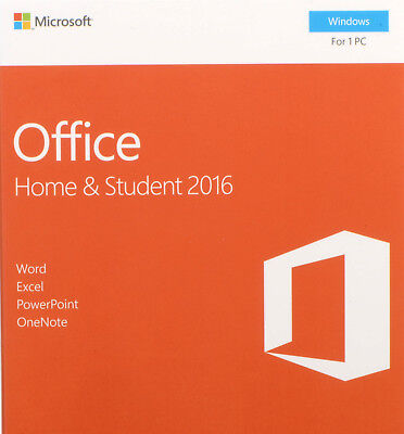 Microsoft Office Home and Student for WIN 2016 ESD MultiLanguage