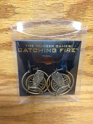 """EARRINGS The Hunger Games """"Catching Fire"""" Earring Charms ** BRAND New in package"""