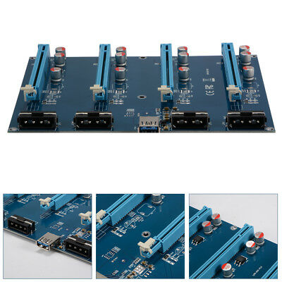 PCI-E 1X to 16X Extension Adapter Riser Card for Mining Bitcoin Litecoin AC878