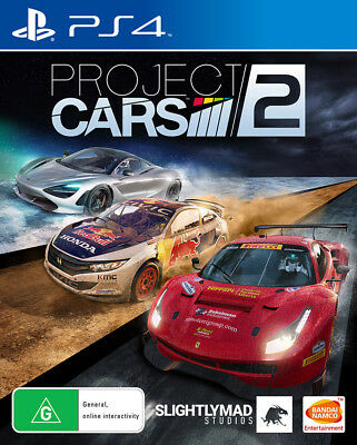 Project CARS 2 PS4 Game NEW