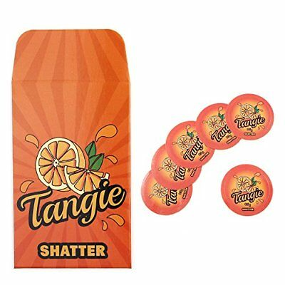 Orange Tangie Shatter Extract Envelopes Strain Rx Cannabis Label Stickers Combo