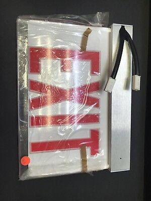 Lithonia F2RP 2RW Precise Edge Lit EXIT Sign