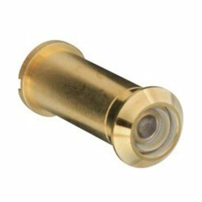 Stanley 158907 160 Degree Lens Door Viewer, Polished Brass