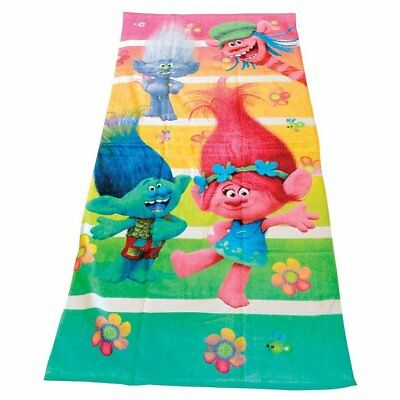 "DreamWorks 415622 Trolls Beach Towel, 58"" L x 28"" W"
