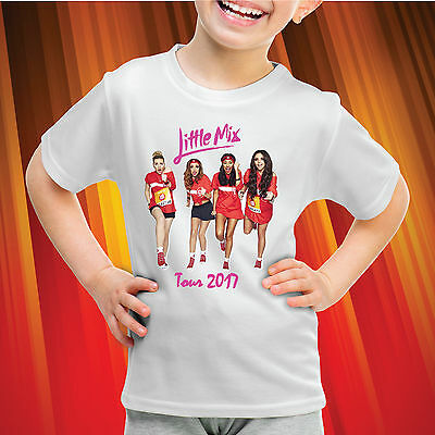 Little Mix T Shirt-Glory Days Girls, Kids T Shirt- LM02