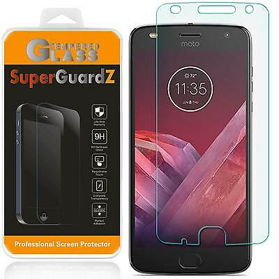 2X Motorola Moto Z2 Play Tempered Glass Screen Protector Guard + 2 Stylus Pen