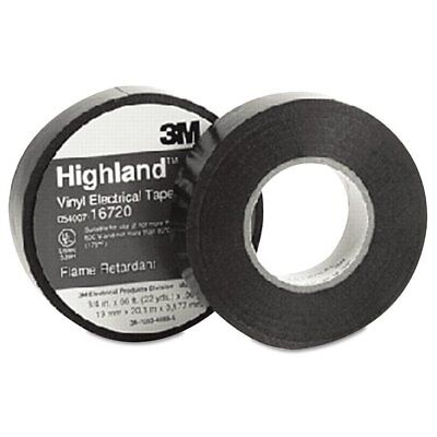 "3M Highland Vinyl Commercial Grade Electrical Tape, 3/4"" x 66ft, 1""  ..."