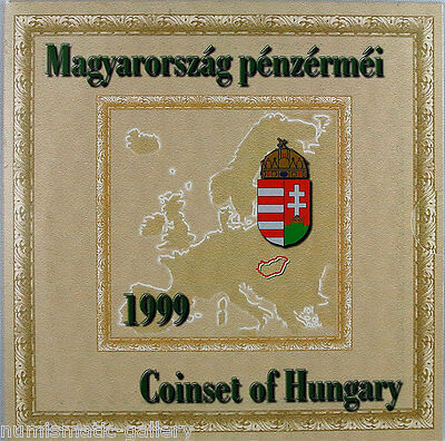 Hungary 1999 Proof Set 75Th Anniv. Of The National Bank