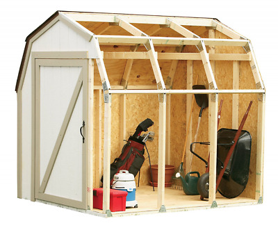 2x4 Basics 90190 Shed Kit, Barn Style Roof