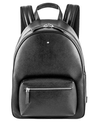 Montblanc Sartorial Collection Dome Small Black Leather Backpack 116751