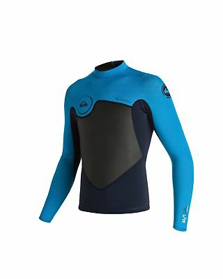 NEW QUIKSILVER™  Boys 8-16 Syncro 1mm New Wave Long Sleeve Wetsuit Jacket 2016 B