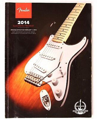 Fender Guitar Illustrated Price List February 2014 Catalog, Strat Telecaster