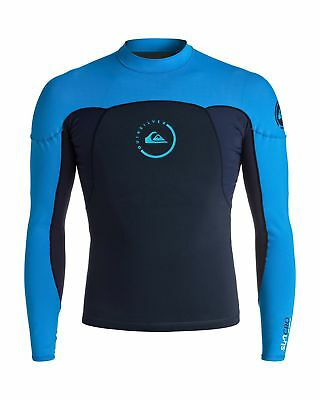 NEW QUIKSILVER™  Mens Syncro 1mm Long Sleeve Neoshirt Wetsuit Jacket 2016 Surf