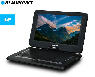"Blaupunkt Portable 14"" DVD Player - Black"