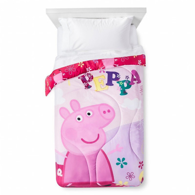 Peppa Pig Twin Sized Reversible Comforter