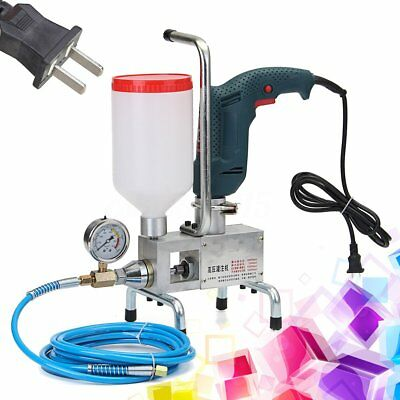 220V Electric Epoxy Injection Piston Pump Polyurethane Foam Grouting Machine