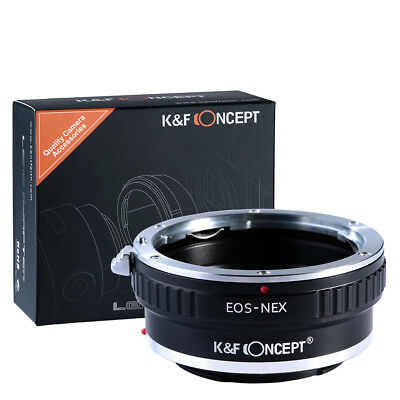 Adapter for Canon EOS EF mount lens to Sony E mount NEX a7R a7RII K&F Concept