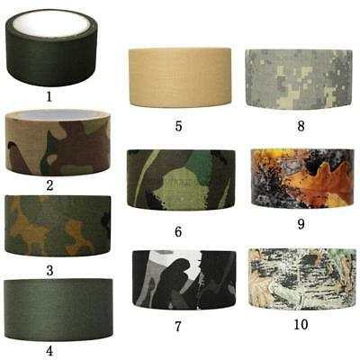 AU 10m Army Camouflage Outdoor WRAP RIFLE GUN Hunting Camo Stealth Duct Tape