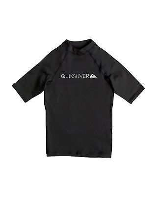 NEW QUIKSILVER™  Boys 8-16 Heater Short Sleeve Rash Vest Boys Teens Ski