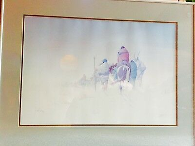 """Donald Vann Lithograph """"The Wayfaring"""" Limited Edition-Pencil Signed 18X24"""
