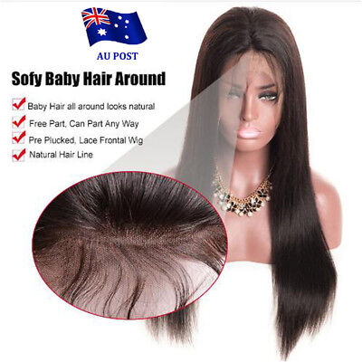 Simulated Hair Full Lace Wig Black Women Body Wave Glueless Lace Wigs Baby Hair